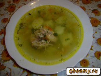 Суп из консервированной сардины